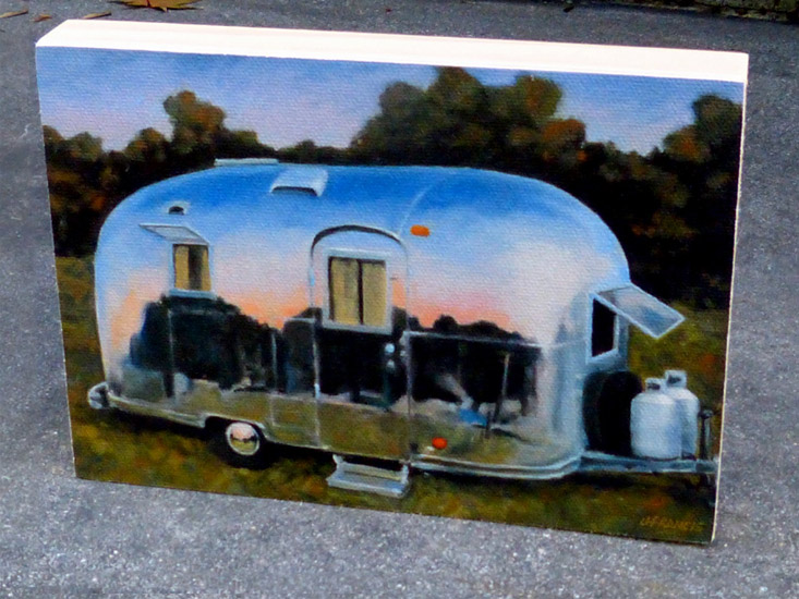 Jon Francis - Airstream (canvas)