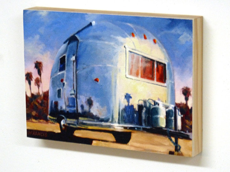 Jon Francis - Sunny Afternoon (wood mounted)