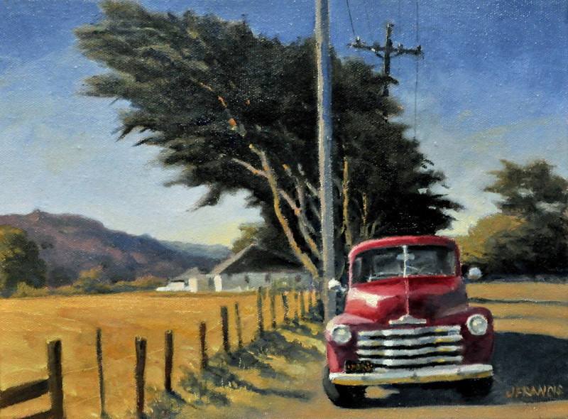 Parked in Point Reyes Station - Jon Francis