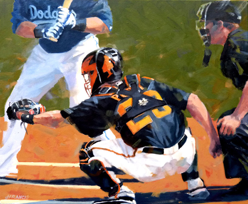 Posey at the Plate - Jon Francis