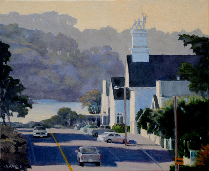 Mendocino Morning - Jon Francis