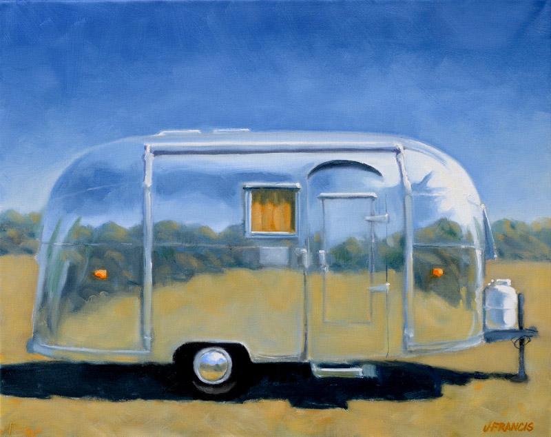 """Shiny Airstream (5"""" x 7"""") - Jon Francis"""