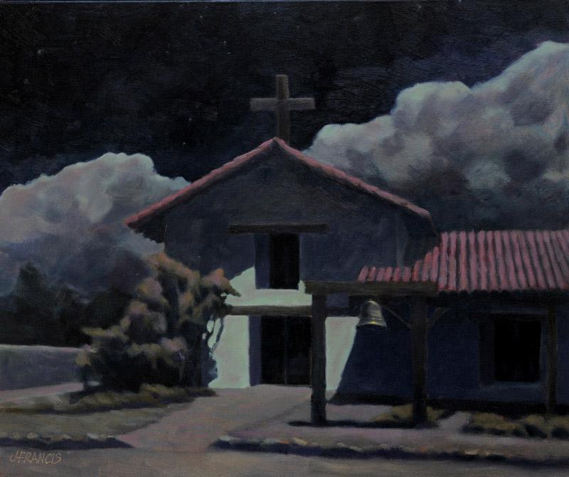 Sonoma Mission Nocturne - Jon Francis