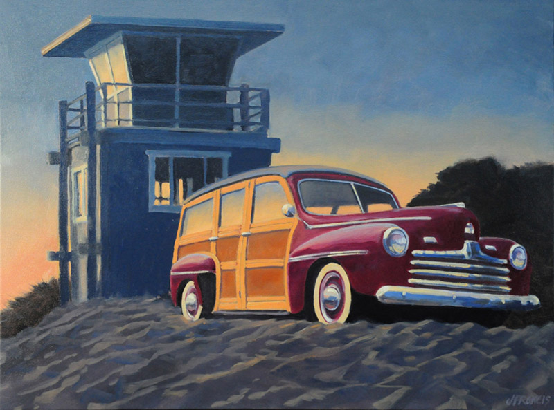 Jon Francis - Woody at Stinson Beach